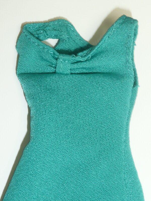 Integrity Aqua Green Dress & Beige Shoes-14416