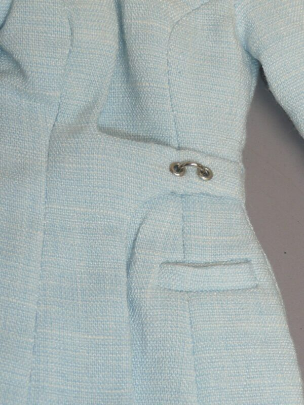 Integrity Pale Blue Coat w/Sunglasses and Jewelry-14425
