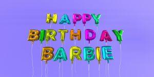 Barbie's 60 Birthday