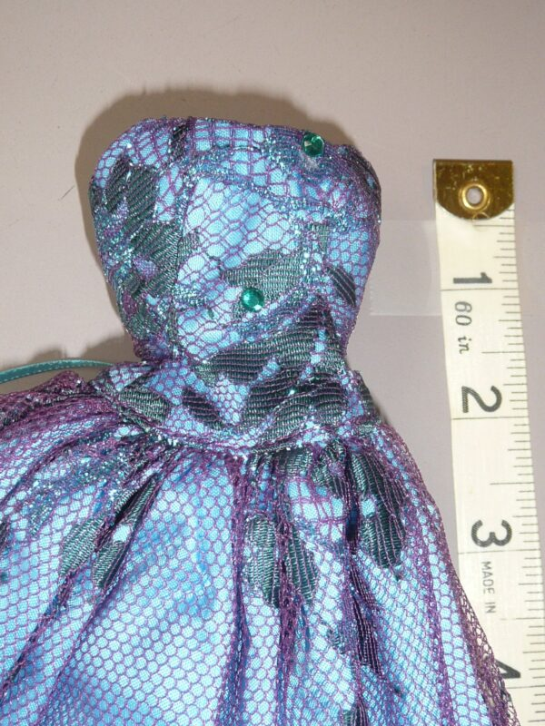 Ginny O Blue/Purple Gown, Fits Integrity-14779
