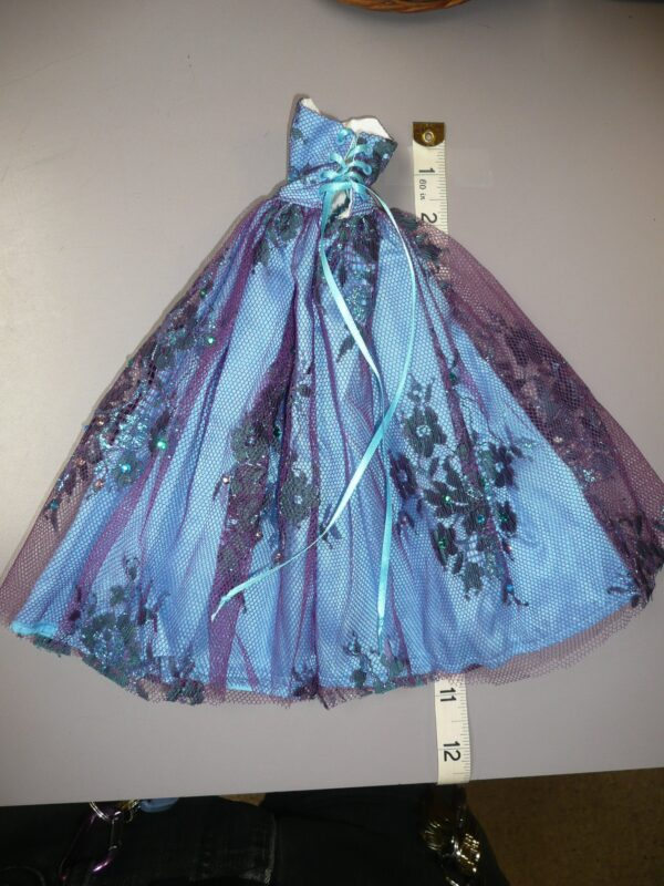 Ginny O Blue/Purple Gown, Fits Integrity-14778