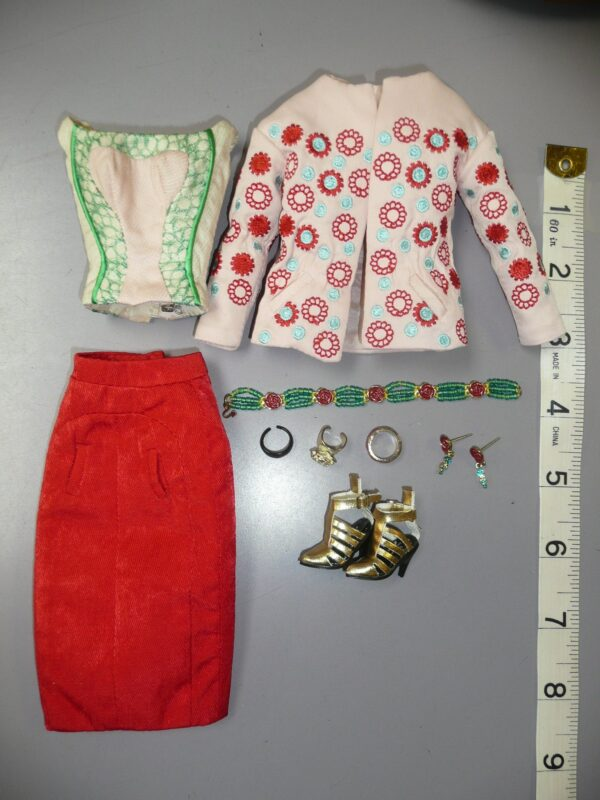Integrity FR Jacket, Skirt, Bustier & Shoes-0