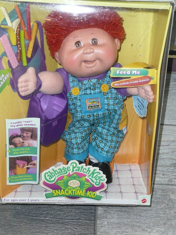 Cabbage Patch Kids Snacktime Kid, Mattel, 1995 -0