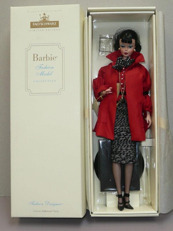 Silkstone Barbie Fashion Designer FAO Schwarz Exclusive